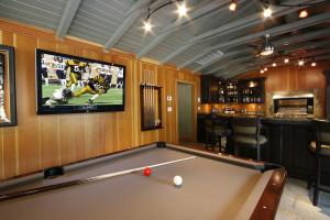 Turner game room