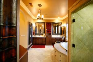 Fisher,-bathroom,-mirror-tv-off